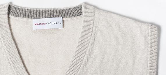 Men's Cashmere Sweater Vest | MaisonCashmere